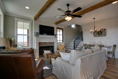 Living Room | Barn Light Homes | Waco TX