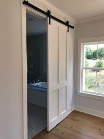 Custom Sliding Door | Barn Light Homes | Waco TX