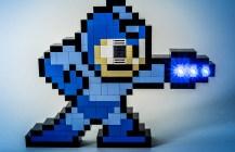 Electronic Mega Man Sprite