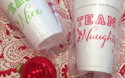 Holiday Foam Cup Inspiration