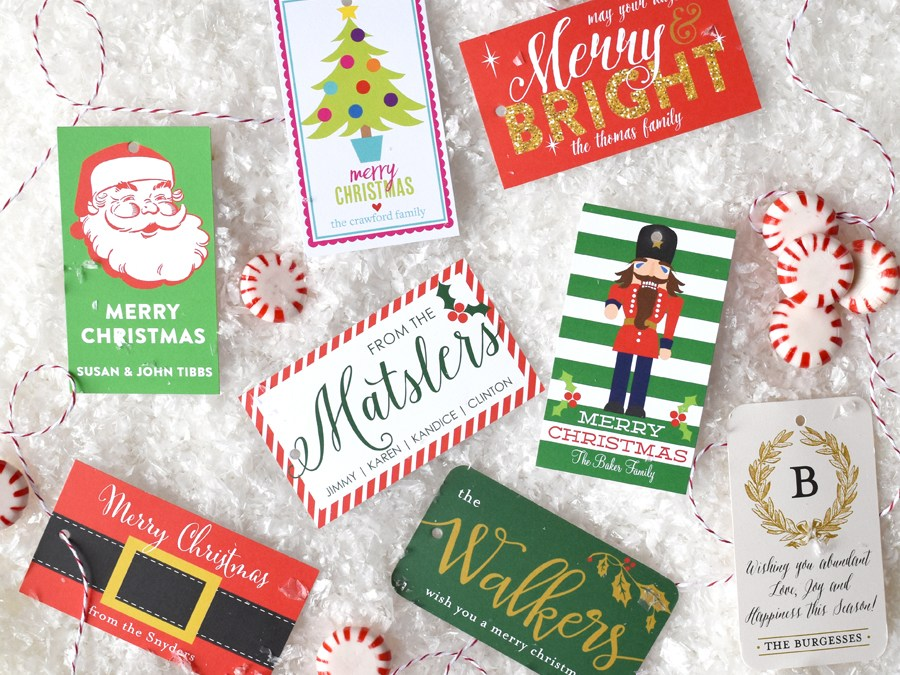 Behind the Scenes Holiday Gift Tags