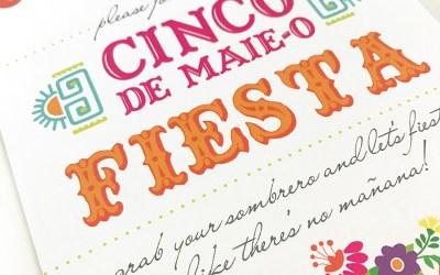 Cinco de Mayo Custom Invitations