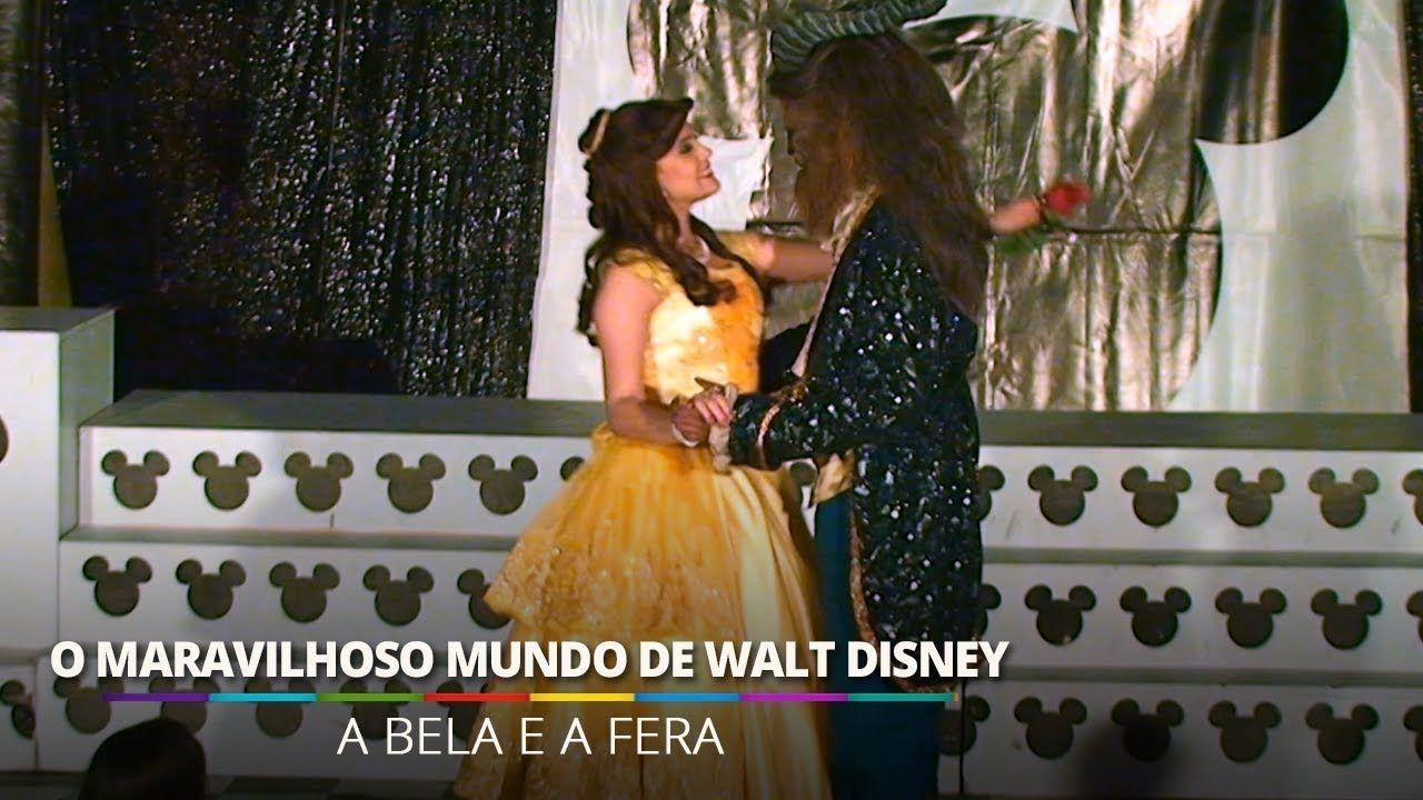 A Bela e a Fera  – O Maravilhoso Mundo de Walt Disney @ Barra World