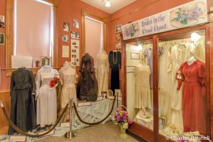 Brides in the Coal Dust exhibit