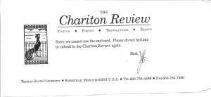 Chariton Review