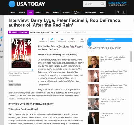 USA Today interview screenshot