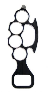 steel knuckles bottle openers