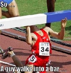 So a guy walks into a bar