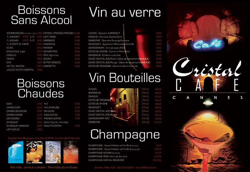 Le Cristal Bar Nuit 1