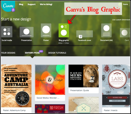 Canva's Blog Graphic