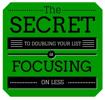 The Secret to Doubling Your Email List