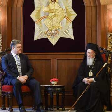 Ecumenical Patriarch Ukrainan President