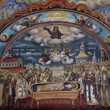 Adormirea Sf Ioan de Rila