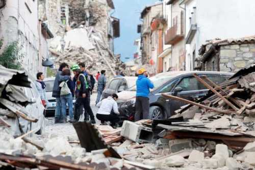 Earthquake Italy Amatrice