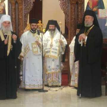 Patriarhul Irineu al Serbiei si Arhiepiscopul Hrisostom al Ciprului