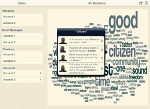 Resonate Word Cloud Selection