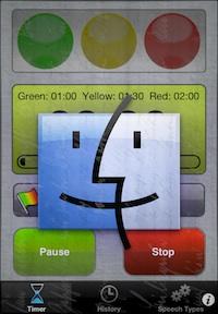 Speech Timer for Mac OS X