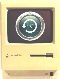 Mac Plus Time Machine