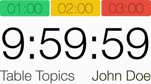 Speech Timer redesign TV 720p
