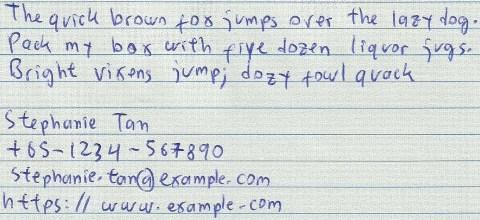 LiveScribe Sample -Scanned