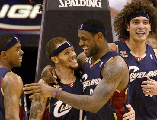 Image result for Delonte West and lebron