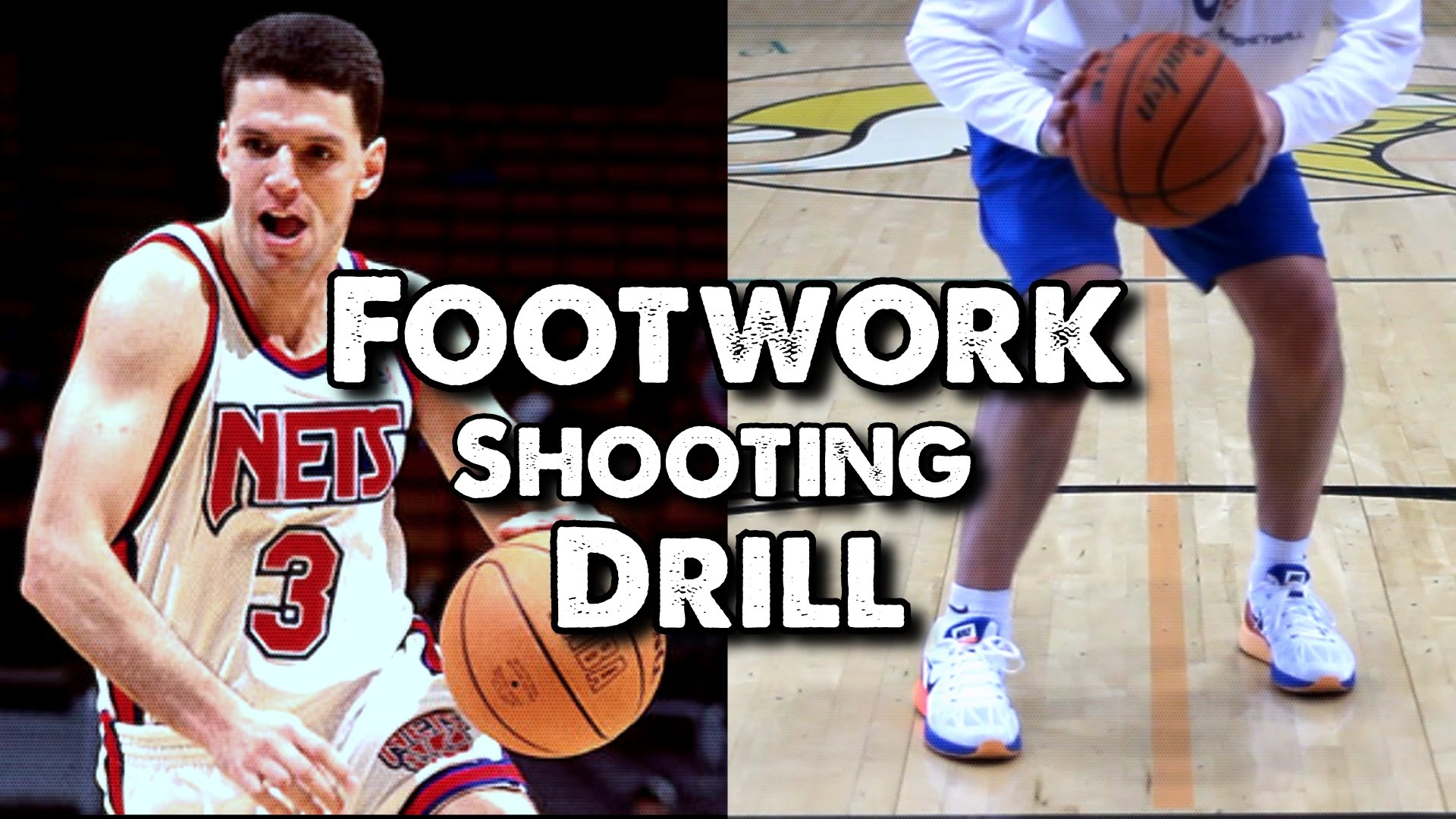 Basketball Shooting Form - Shooting Drills By Yourself - NBA ...