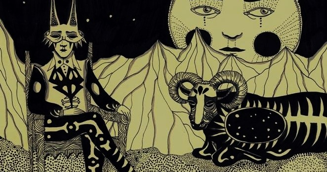 INTERVIEW Oneiric drawings in pens and pencils by  Daria Hlazatova
