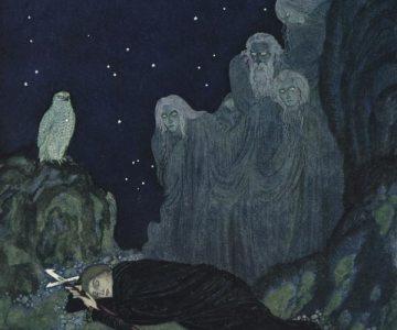Ilustrațiile de basm ale lui Edmund Dulac: artistul din paginile cărților Reginei Maria a României