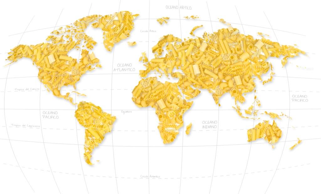 WORLD PASTA DAY 2012: inarrestabile la passione per la pasta italiana: superati 13 miliardi di piatti made in Italy nel mondo