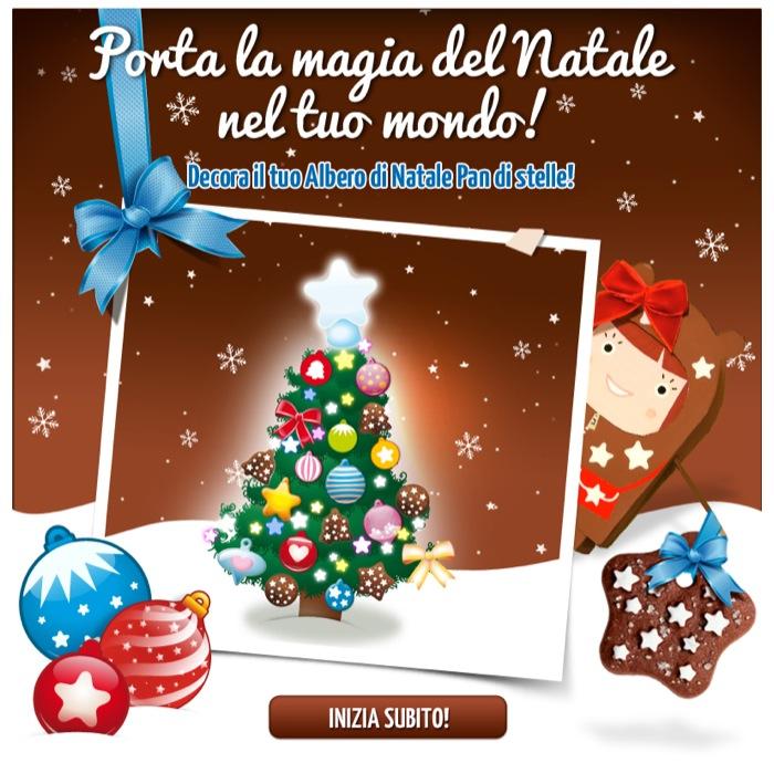 Pan di Stelle porta la magia del Natale in tutto il tuo mondo... a casa tua e su Facebook!