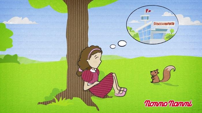 """Arriva il cartone animato di Nonno Nanni: al via i video animati firmati Nonno Nanni per raccontare la storia dei famosi """"stracchini volanti"""""""