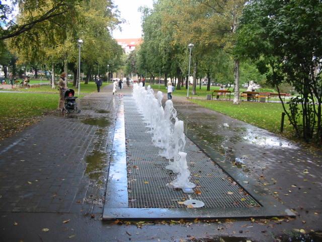 Tallinna Politseipargi purskkaev