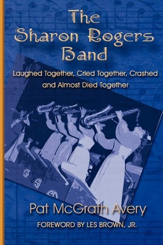 book cover, big band, WWII, USO tour, all woman band, saxophone section
