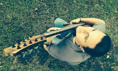 Bassist Fabian Vargas Brenes
