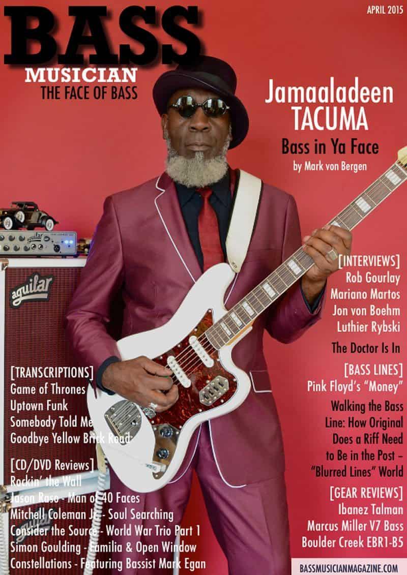 Bass Musician Magazine - April 2015