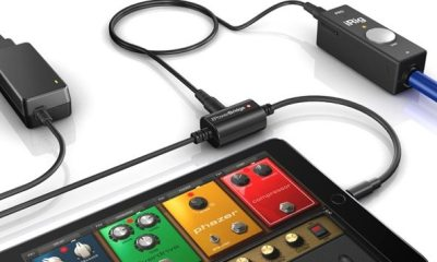 Charge While Playing -  Checkout IK Multimedia's iRig PowerBridge