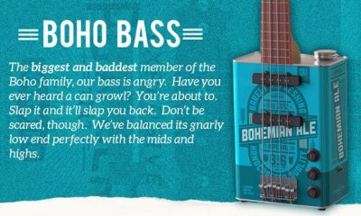 Bohemian Guitars Introduces the Oil Can Bass