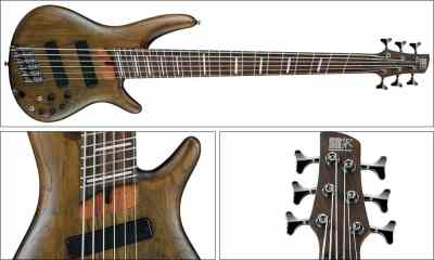 Ibanez Fanned Fret Bass Line Expands with New Finish