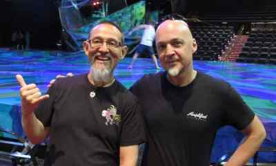 Interview with Bassist David Pelletier of Mystère, by Cirque du Soleil