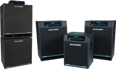 Acoustic Amplifiers Introduces Class-D and Neo Series Bass Amps and Cabinets