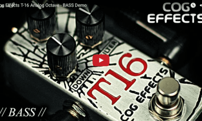 Cog Effects Introduces The T-16 Analogue Octave