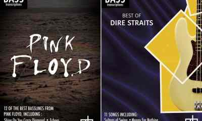 The Best of Pink Floyd and Dire Straits for Bass