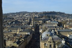 View north from Bath Abbey