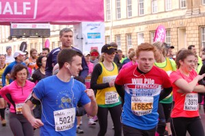 Once again, many University of Bath students competed in the Bath Half, helping to raise money for a wide range of charities.