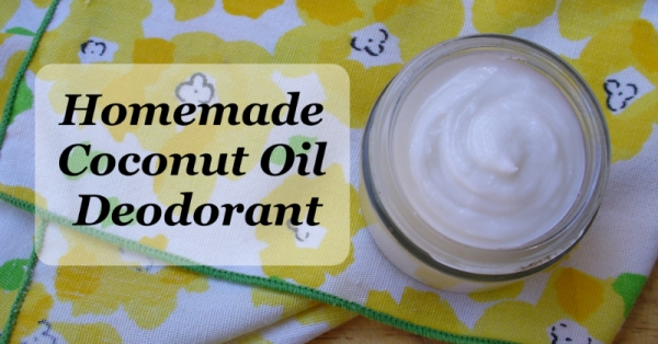 DIY – Coconut Deodorant