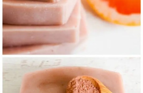 How To Make Natural Pink Grapefruit and Clay Soap