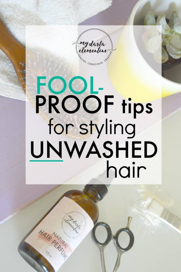 tips-for-styling-unwashed-hair