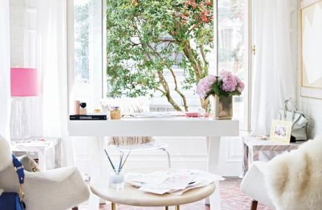 Home Office Inspiration For Creative Girly Bosses