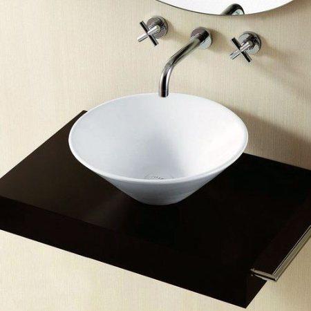 Ontario round countertop wash basin