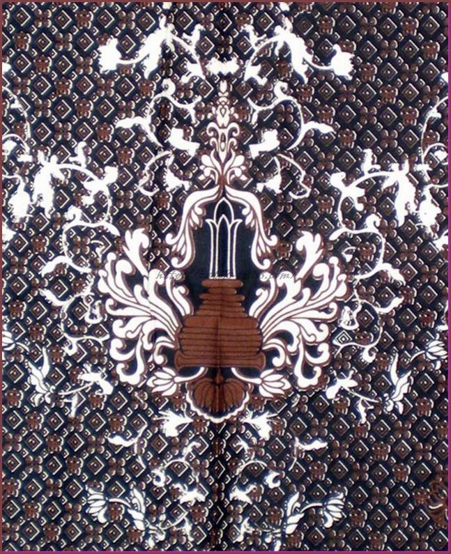 batik malang - motif tugu malang